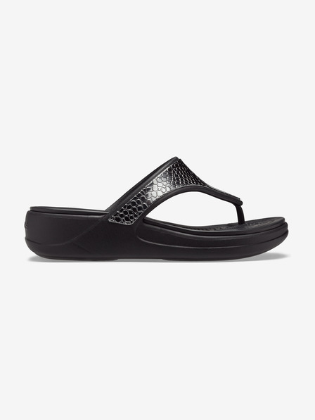 Crocs Monterey Metallic Wedge ?lapi