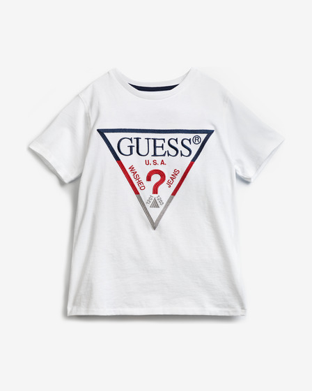 Guess Embroidery Front Logo Tricou