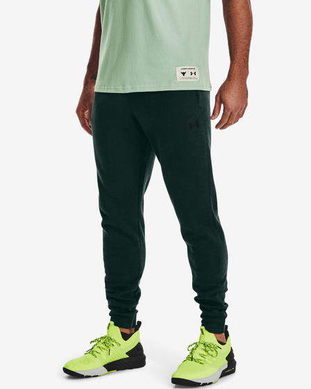 Under Armour Project Rock Charged Cotton® Fleece Pantaloni de trening