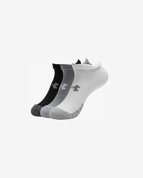 Under Armour HeatGear® Set de 3 perechi de șosete