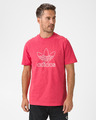 adidas Originals Trefoil Logo Outline Tricou