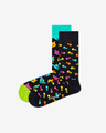 Happy Socks Cat Gift Box Set de 2 perechi de șosete